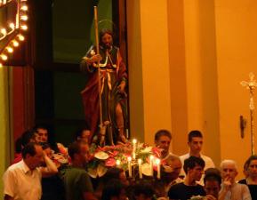 Festeggiamenti in onore di San Rocco - Processione al catafalco
